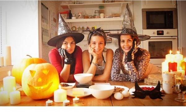 Капкейки-брауни в стиле Хэллоуин. Видео-рецепт