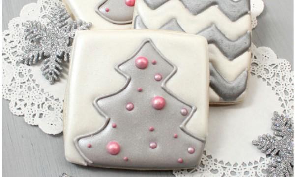 Как украсить печенье в новогоднем стиле. Пошаговый фото-урок