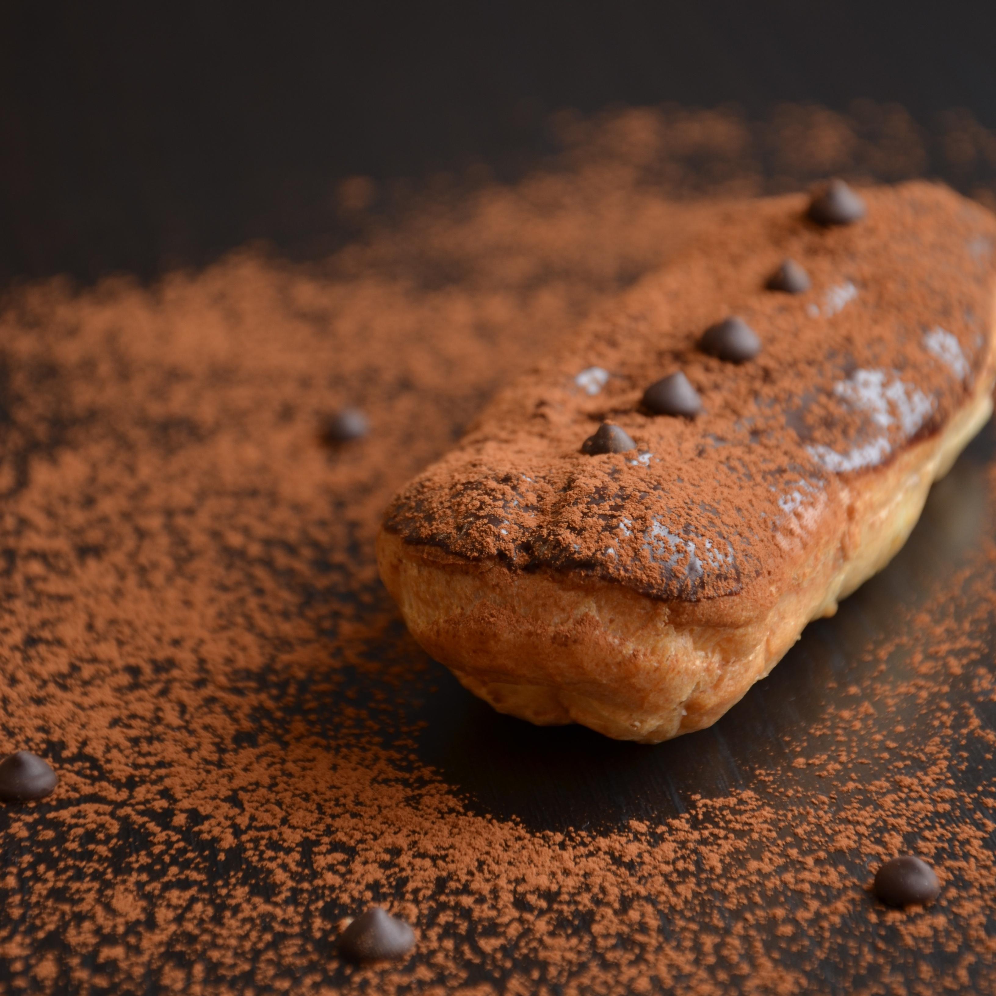 Эклеры с шоколадным кремом муслин (63)