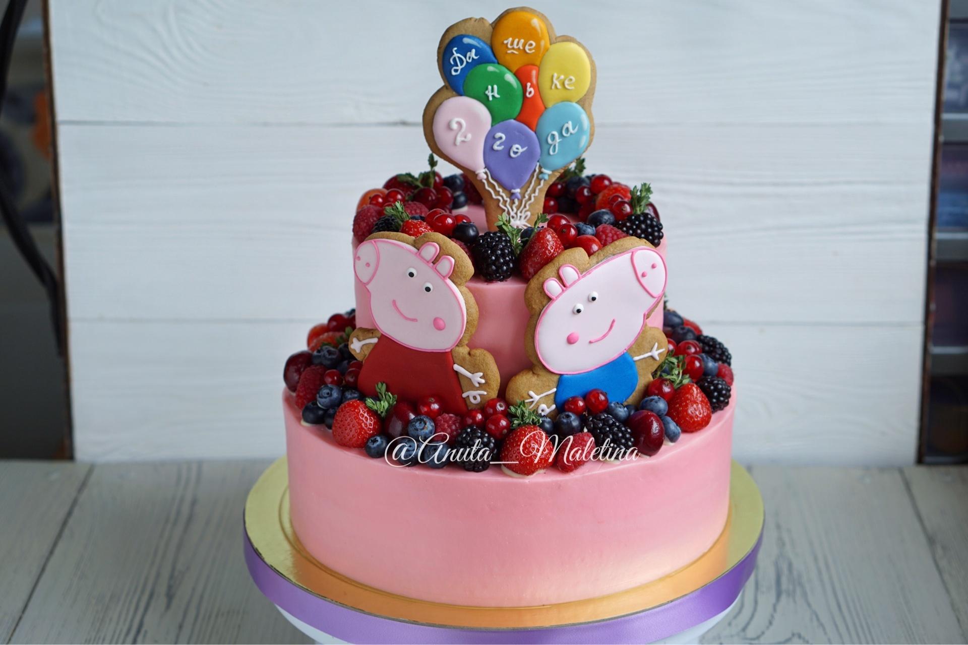 Рецепт торта на детский день рождения своими руками фото