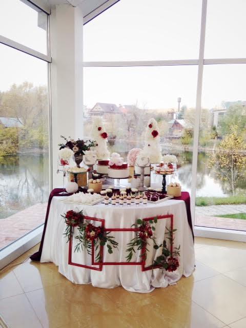 свадебный кэнди-бар