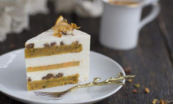 муссовый морковный торт