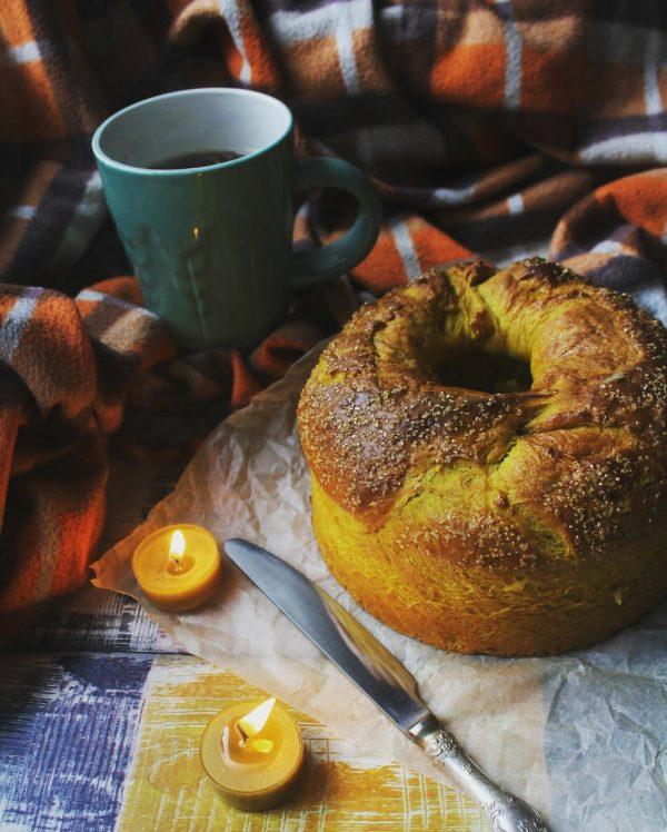 Рецепт десертного тыквенного хлеба