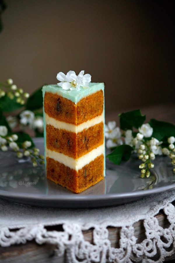 Классический морковный торт