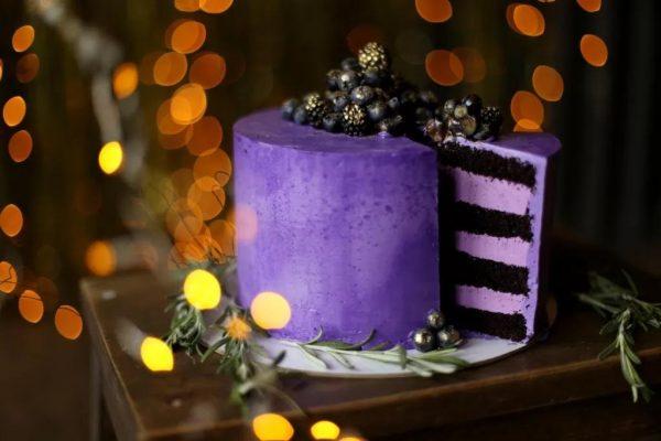 """Торт """"Черничные ночи"""""""