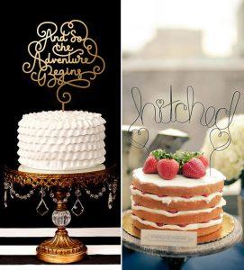 свадебные торты 2017