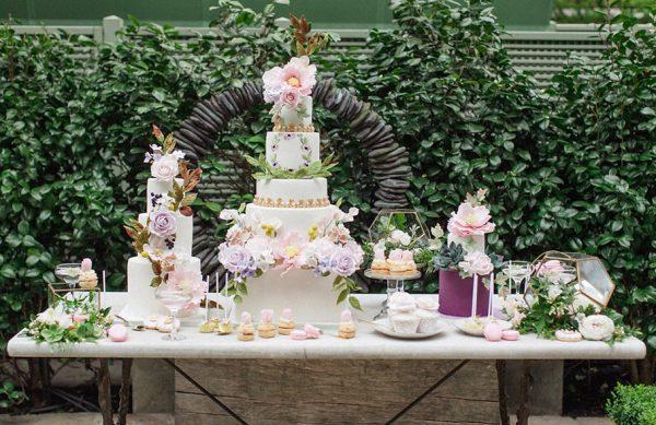 Свадебные торты: 16 горячих трендов 2017