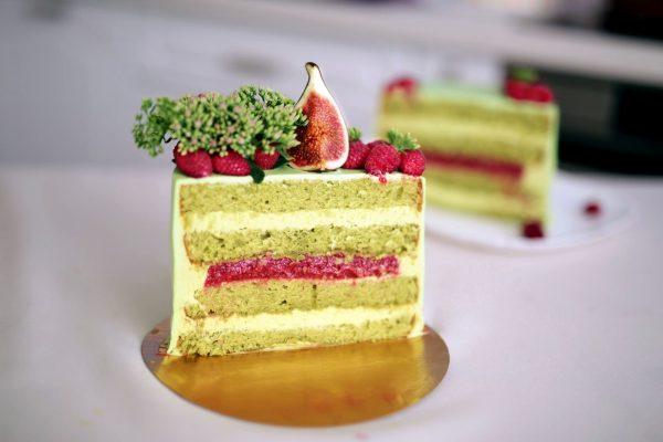 Коммерческий рецепт фисташкового торта от Людмилы Давлатовой