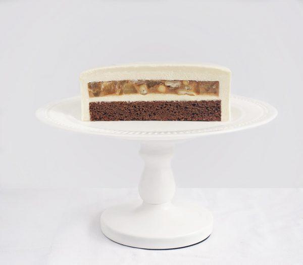 Ванильно-муссовый торт