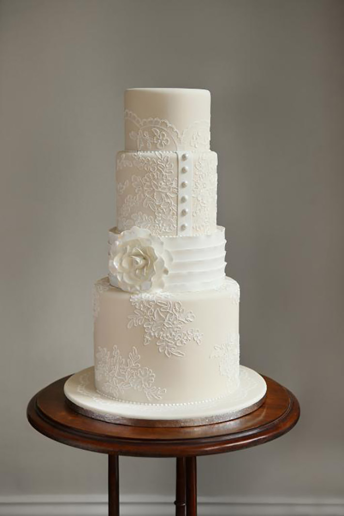 свадебный торт Айвори
