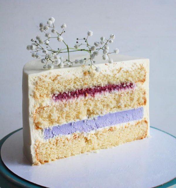 Авторский рецепт лавандового торта без глютена