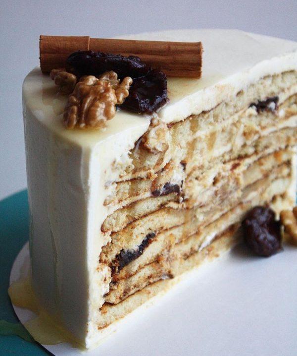 Авторский рецепт медового торта