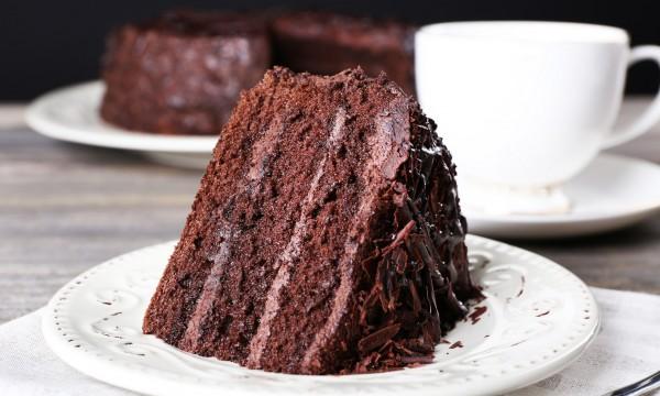 Вкуснейший шоколадный бисквит