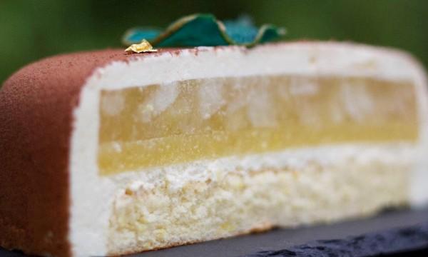 Муссовый торт «Груша-лимон»