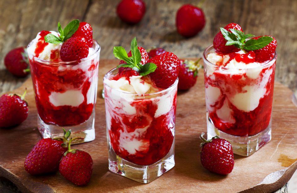 диетические десерты клубничное конфи без сахара суфле без сахара