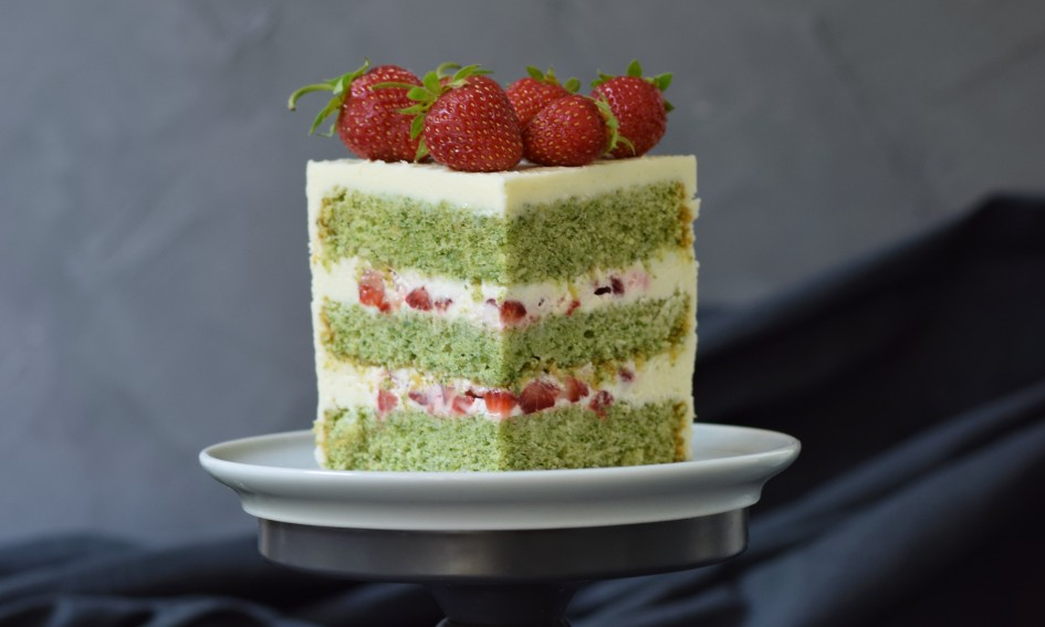 торт с крапивой, торт со шпинатом, крапивный торт, homebaked.ru