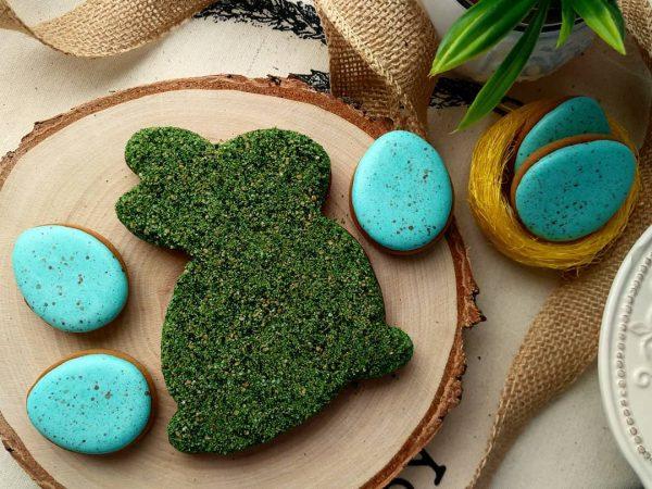 Съедобный мох для печенья