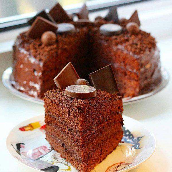Семейный рецепт шоколадного торта