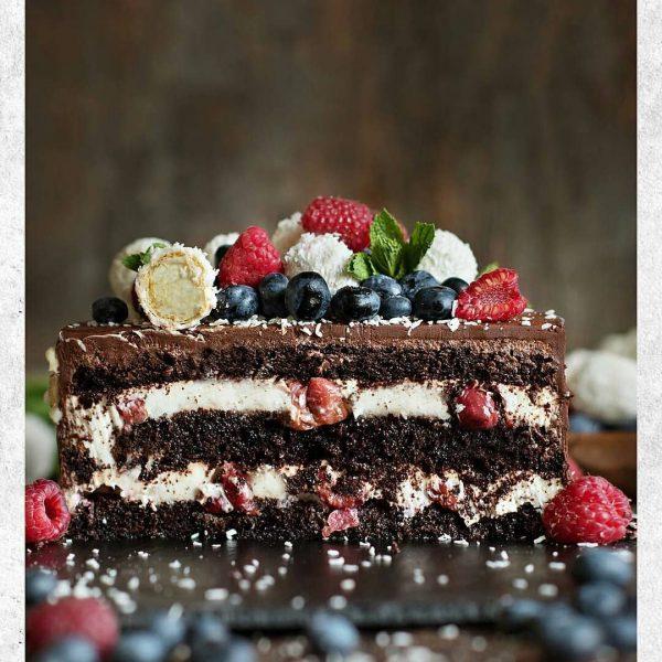 """Шварцвальдский торт с вишней """"Черный лес"""""""