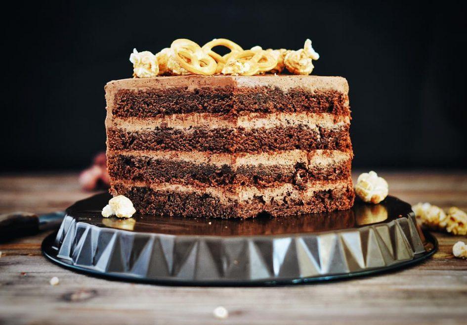 торт Прага, шоколадный торт