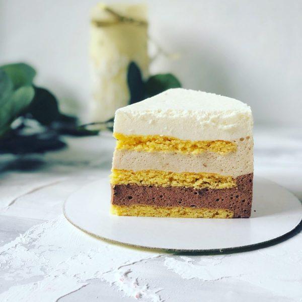 Торт «Тройное птичье молоко»