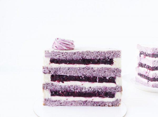 Лавандовый торт