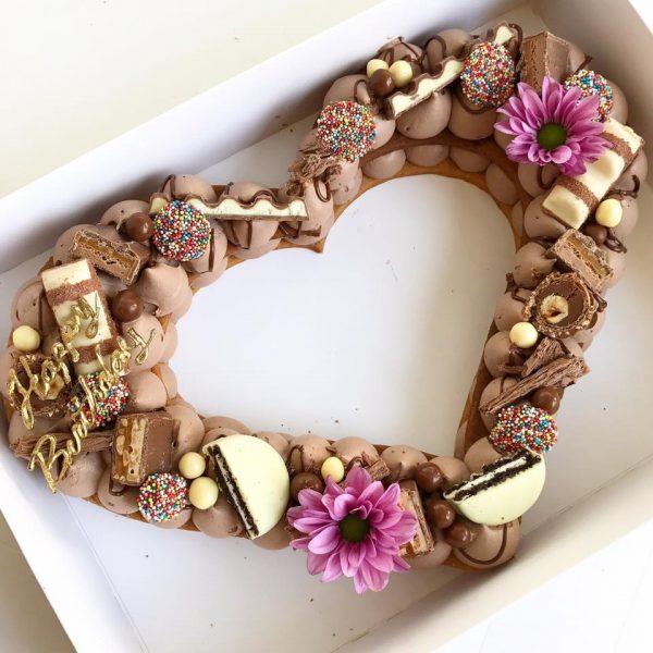 Вкусный шоколадный крем для торта-цифры