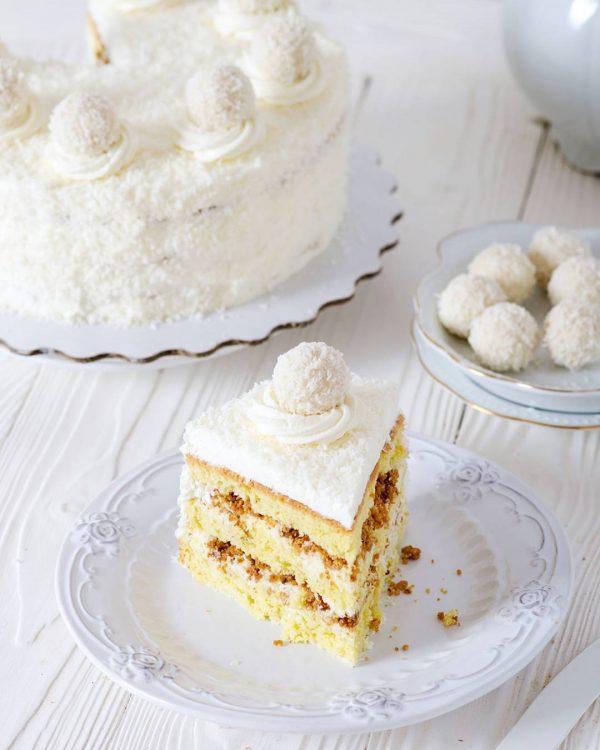 Рецепт кокосового торта