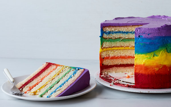 Торт-радуга