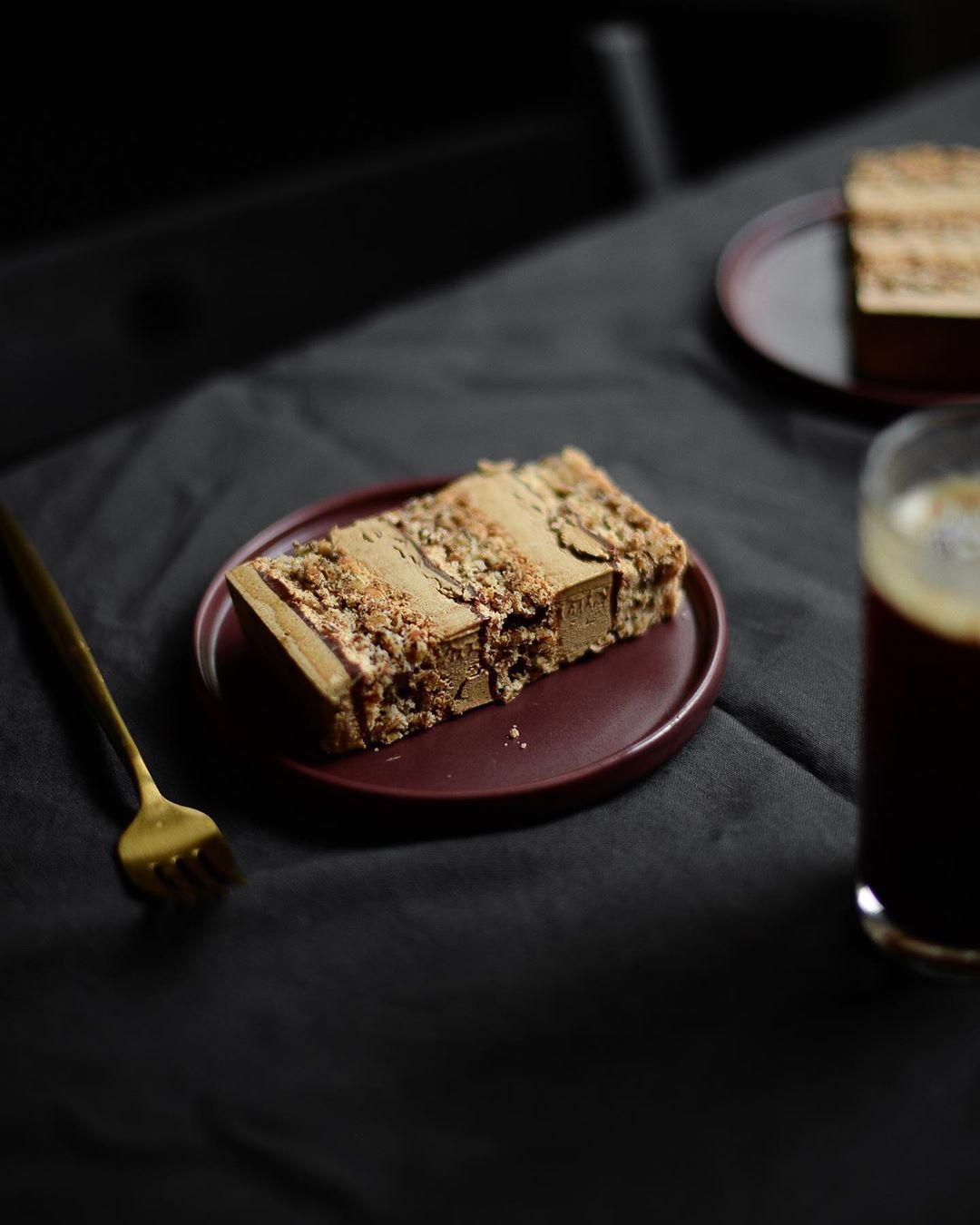 Торт «Грецкий орех-кофе-шоколад»